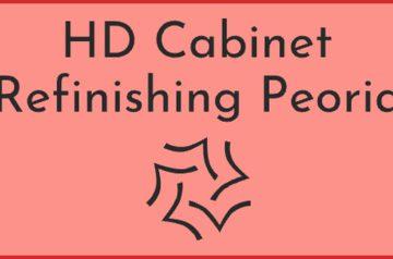 HD Cabinet Refinishing Peoria
